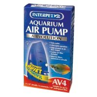 Interpet Airvolution AV 4 Aquarium Fish Tank Air Pump AV4